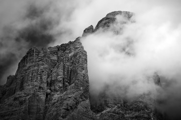 Wall Mural - Dramatic Weather - Dolomites