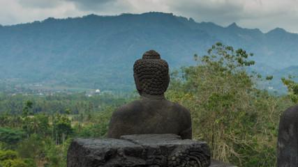 borobodur buddha indonesia