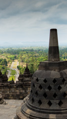 stupa indonesia borobodur