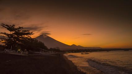 volcano agung bali amed
