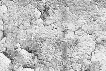 Fotobehang Oude vuile getextureerde muur Texture of peeling paint.
