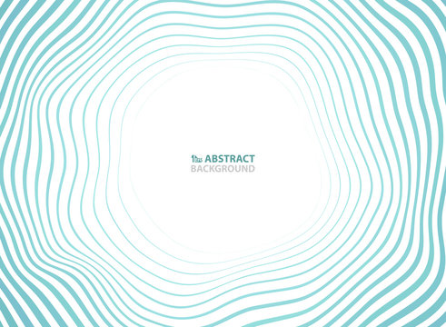 Abstract sea waves pattern circle presentation background. You can use for ad, poster, cover design, travelling campaign, annual report.