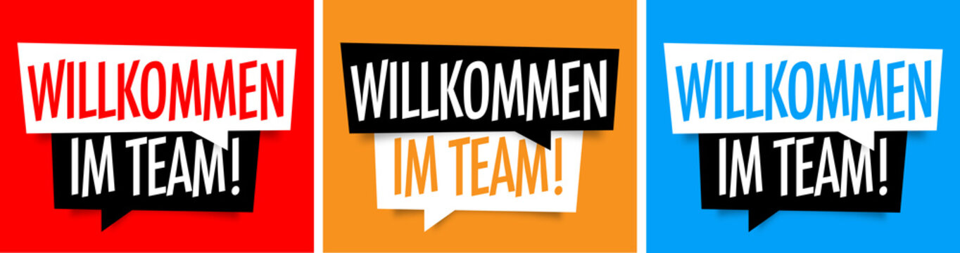 Willkommen im team