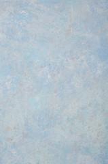 Blue pastel Venetian plaster, texture.