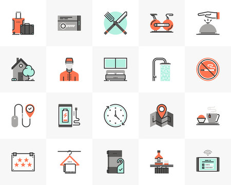Hotel Services Futuro Next Icons Pack