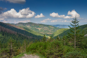 Panoramic view of Tatra Mountains
