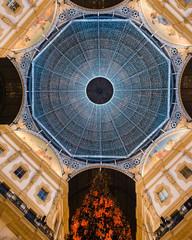 Vittorio Emanuele II shopping mall, Milan, Italy