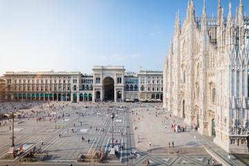 Piazza Duomo, Milano, Italy