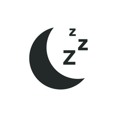 Sleep graphic design template vector illustration