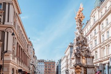 Am Graben, Pestsäule, the Plague column in Vienna