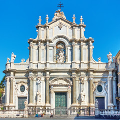 Wall Mural - Cathedral of Catania