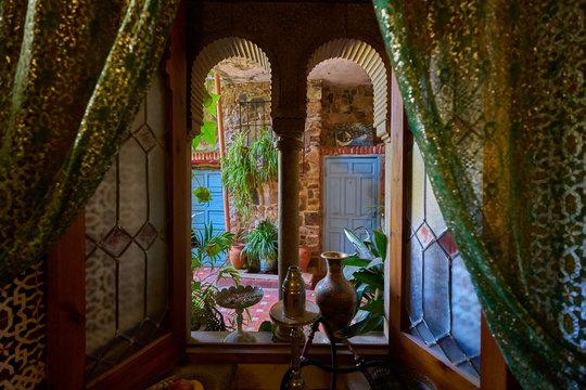 An arabian house at Caceres, Spain