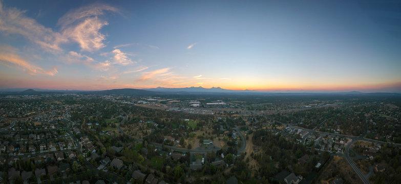Bend Oregon Panorama