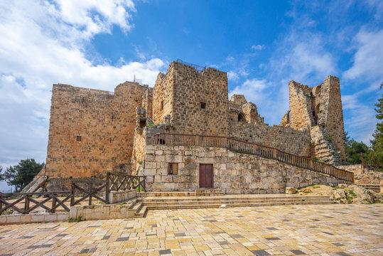 Ajloun Castle (Qa'lat ar-Rabad) in northern jordan