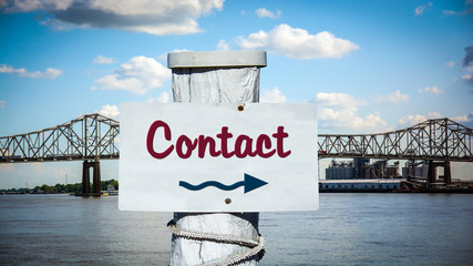 Sign 387 - Contact