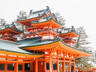Heian-Jingu Shrine in Kyoto, Japan