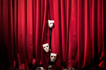 theater / mask Fototapete