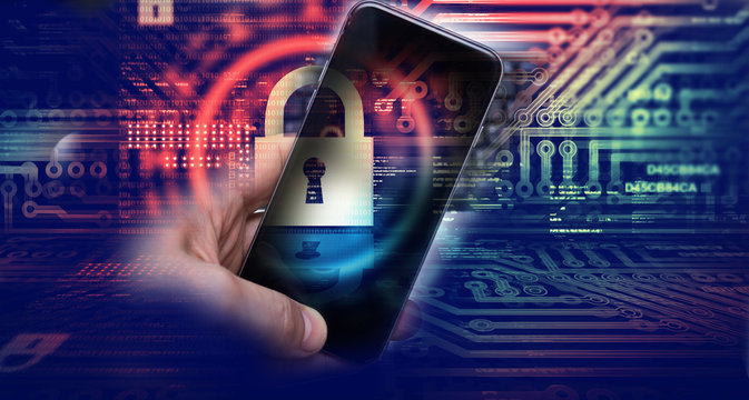 Protecting information in mobile devices. Hacking mobile devices by hackers. Data protection in the cloud.