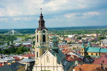 Panorama miasta Przemyśl Polska