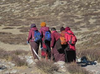 Fototapeta 2018 Himalayas, Tibet, kora around Kailas. obraz