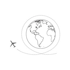 air travel in different parts of the world