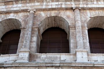 The amazing Colosseum architecture