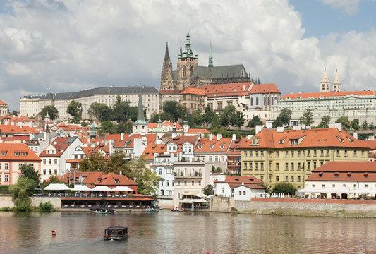 Prague: Prague Castle, Mala Strana, St. Vitus cathedral, the Vltava river
