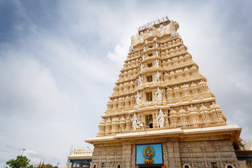 Chamundeshwari temple in Mysore, India