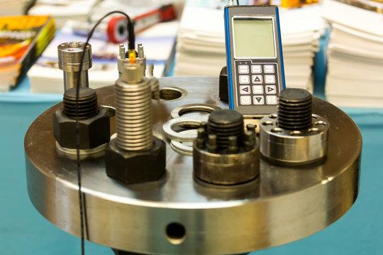 ultrasonic bolt load measurement (maintenance testing device) for industrial work
