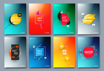 Abstract composition. Text frame surface. Green, yellow, blue, orange a4 brochure cover design. Title sheet model set. Vector front page font. Ad banner form texture. Flier fiber. Citation figure.