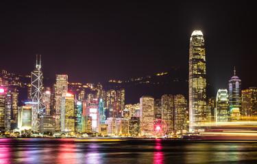 Papiers peints Hong-Kong 香港 ビクトリア・ハーバー 夜景