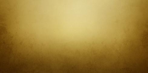 Wall Mural - Vintage gold and brown background with old paper or paint texture and elegant antique golden yellow colors