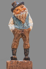 Wooden Figurine from Tyrol