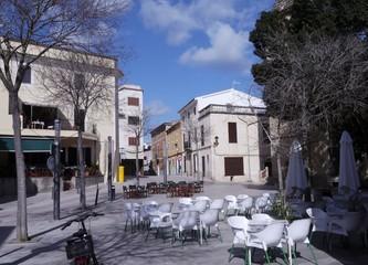 Marktplatz von Son Servera auf Mallorca