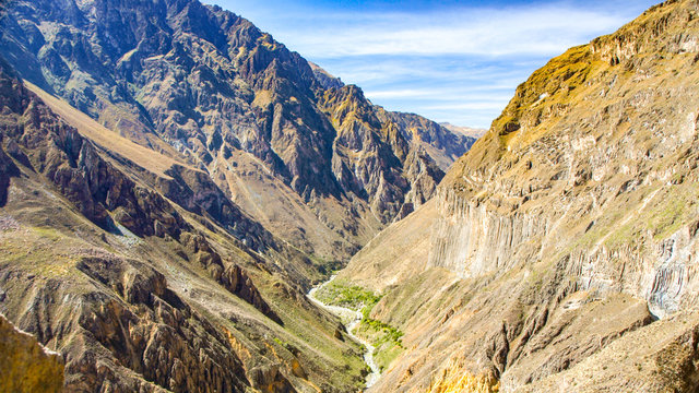 Colca Canyon - the deepest canyon of the World, Peru, South America