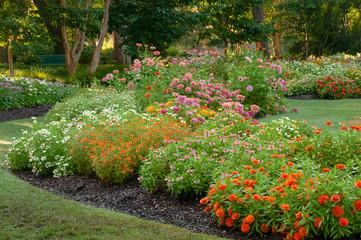 Blooming Garden in the Dallas Arboretum