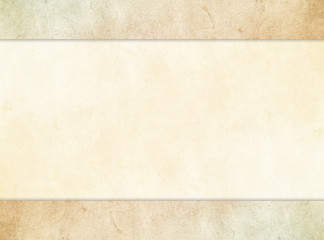 A subtle tan parchment texture background set under a stone texture header and footer.