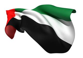 アラブ首長国連邦 国旗 比率1:2