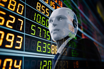 Financial technology concept