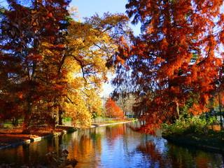 Jardin public de Bordeaux en automne