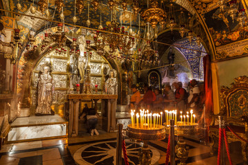 View of church of the Holy Sepulchre Wall mural