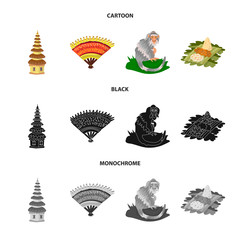Isolated object of  and travel symbol. Collection of  and traditional vector icon for stock.