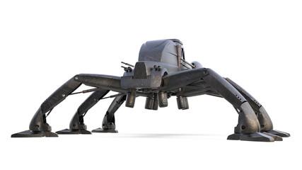 mad gun track - scifi military droid