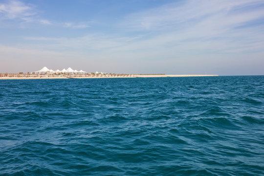 Sir Bani Yas island sea view, UAE, Abu Dhabi