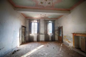 Foto op Canvas Industrial geb. Alte verlassene Villa