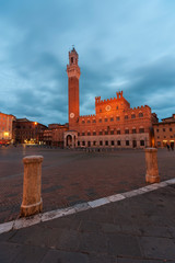 Wall Mural - Historical landmark city Siena, Tuscany, Italy