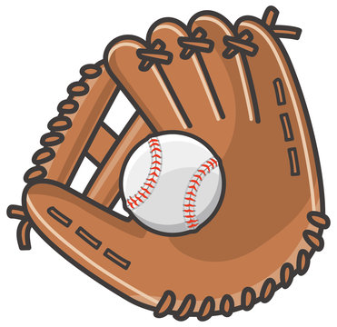野球のグローブと硬式ボール