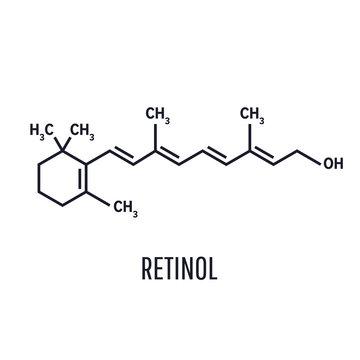 Retinol, vitamin A. Essential for vision and bone growth, healthy skin and hair