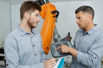 two mechanical engineers