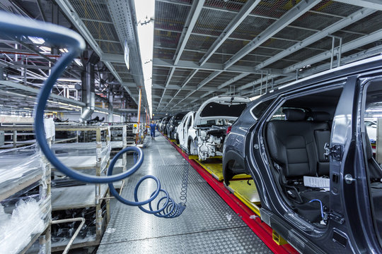 car assembly line plating and equipment
